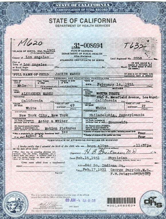 how to make a fake birth certificate